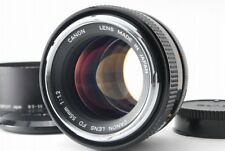 【EXC+++++ with Hood】Canon FD 55mm F1.2 MF Lens from Japan #811