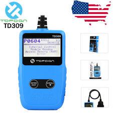 Topdon Maxiscan TD309 OBDII Auto Diagnostic Scanner OBD2 Car Fault Code Reader