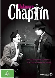 B4 BRAND NEW SEALED Unknown Chaplin (DVD, 2011) feat Charlie Chaplin