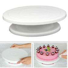 """Cake Turntable 11"""" Decorating Rotating Revolving Icing Display Stand Holder"""