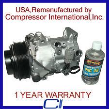 2007-2009 RX350 3.5L,2006-2013 IS250,2007-2011 GS350 OEM Reman A/C Compressor