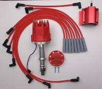 PONTIAC 326-350-389-400-455 PRO-BILLET RACE Distributor + COIL+ Spark Plug Wires