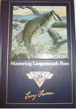 Mastering Largemouth Bass by Larry Larsen (1989, Hardcover)