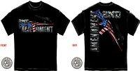AR-15 T Shirt 2nd Second Amendment Tee Rifle USA NRA Mens Tee S M L XL XXL XXXL