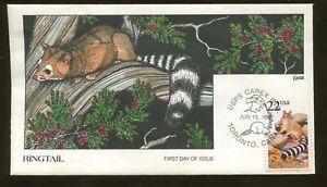 1997 Toronto Canada - USPS CAPEX STA - Ringtail - Collins FDC