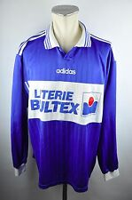 90er Adidas Vintage Maillot Shirt Taille XL Old School Jersey France bultex manches longues