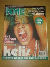 NME 2000 FEB 26 KELIS OASIS NOEL GALLAGHER BILLY CORGAN