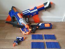 nerf gun elite bundle alpha trooper crossbolt strongarm jolt + bullets 27.99p