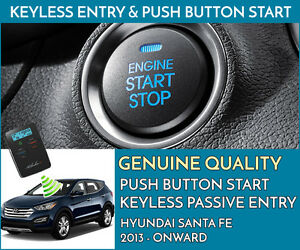 HYUNDAI SANTA FE Push Button Engine Ignition Start & Keyless Entry Installation
