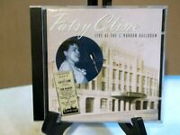 "PATSY CLINE ""LIVE AT THE CIMARRON BALLROOM"" CD"