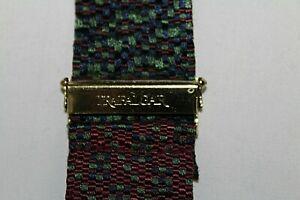 TRAFALGAR Men's Suspenders Braces Red & Green Digital