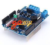 Arduino UNO L298P Motor Shield motor drives Buzzer H-Bridge 2A NEW
