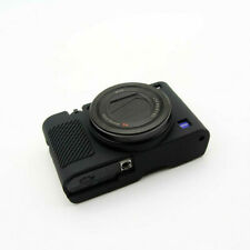 Black Silicone Case Protector Bag Cover Skin For Sony RX100 Mark III IV V Camera