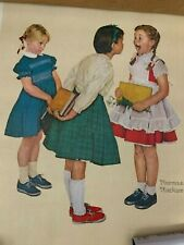 Vintage Norman Rockwell The Missing Tooth Print Dentist Art 1957
