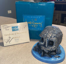 """Wdcc Peter Pan """"Skull Rock"""" Figure Signed By Dusty Horner & 2 More W/ Coa"""