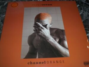 FRANK OCEAN CHANNEL ORANGE   2LP COLOR VINYL LP SEALED LTD