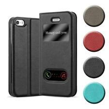 Handy Hülle für Apple iPhone 5 / 5S / SE Cover VIEW Case Tasche mit Sichtfenster