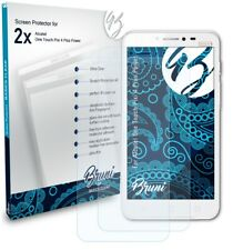 Bruni 2x Screen Protector for Alcatel One Touch Pixi 4 Plus Power