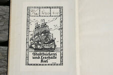 EXLIBRIS Stadtbücherei und Lesehalle Kiel - Vogler