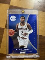 2012-13 KYRIE IRVING TOTALLY CERTIFIED BLUE ROOKIE RC SP PARALLEL 286/299 PANINI