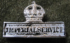 WWI UK BRITISH CANADIAN COMMON WEALTH IMPERIAL SERVICE BADGE