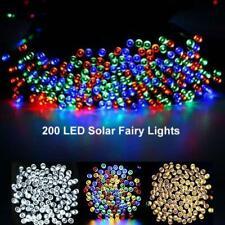 Energía Solar LED Cadena De Luces De Hadas Jardín Al Aire Libre Lámpara de Decoración de fiesta de boda