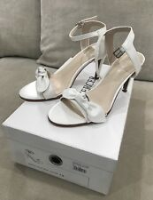 New Adorable JO MERCER Sweetie White Pearl  Leather Heels Pumps 7.5 US