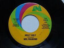 "NEIL DIAMOND Holly Holy - VG Cond US Import Uni 7"" (1969)"