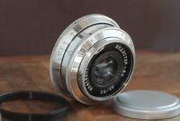 Soviet lens Industar 50,Lens 50mm f3,5,Silver lens,Bokeh portrait DSLR M39/M42