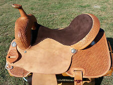 "16"" Spur Saddlery Barrel Racing Saddle - Made in Texas"