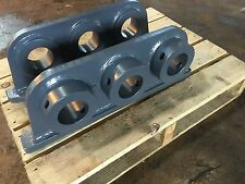 Excavator Grapple Link Pad 60mm Pin @140mm Wide