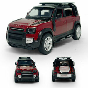 1:32 Land Rover Defender 110 SUV Model Car Diecast Toy Vehicle Pull Back Red