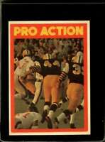 1972 O-PEE-CHEE CFL #124 PRO ACTION EXMT  *X2129