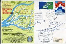 WW2 Dutch Resistance veterans multi signed RAF Biesbosch cover