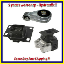 OEM Quality Motor & Trans. Mount Set 3PCS. for 2005-2007 Ford Focus 2.0L. Auto.