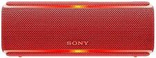 Sony Srs-xb21 Red Wireless Bluetooth Rechargeable Speaker Waterproof Srsxb21