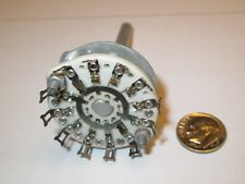 CERAMIC ROTARY SWITCH NON SHORTING  3 POLE - 5 POSITIONS CENTRALAB   NOS  1 PCS.