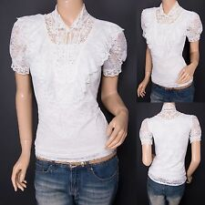 Blouse Classic Collar Unbranded Tops & Shirts for Women