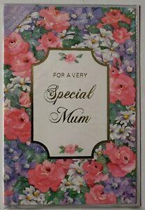 """VERY SPECIAL MUM"" BIRTHDAY CARD"