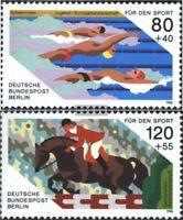 Berlin (West) 751-752 (kompl.Ausgabe) gestempelt 1986 Sporthilfe