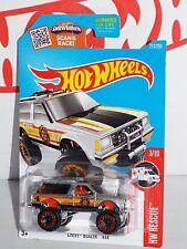 Hot Wheels Wal-Mart 2016 ZAMAC HW Rescue Series #213 Chevy Blazer 4x4 w/ BLs