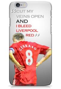 Liverpool Steven Gerrard Quote Phone Case iPhone