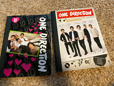 Lot of Two One Direction Composition Notebooks Global Merchandising 2014