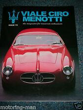 Viale CIRO MENOTTI Issue 79 MARZO 2000 Maserati Spyder Zagato A6G/54 Mistral