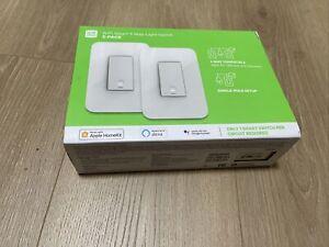 Wemo Smart 3-way Light Switch 2-PACK