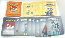 GAME PARTS PIECES Pokemon Master Trainer 2005 Orange Box Event Gym Leader Cards