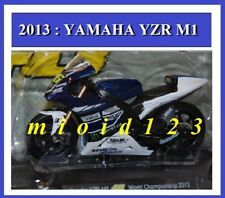 1/18 - ROSSI - YAMAHA YZR M1 - 2013 WORLD CHAMPIONSHIP - Die-cast
