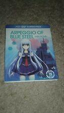 Arpeggio of Blue Steel: Ars Nova (Blu-ray/DVD, 2016, 3-Disc Set)