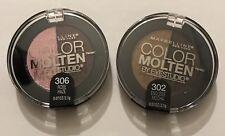 Maybelline Eye Studio Color Molten Variety 2 Pack - Rose Haze & Endless Mocha