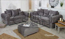 CHESTERFIELD STYLE VERONA STURDY SOFA SET 3+2 SEATER FABRIC